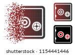 vector bank safe icon in...   Shutterstock .eps vector #1154441446