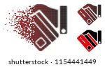 vector banking service icon in...   Shutterstock .eps vector #1154441449
