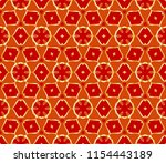 seamless abstract floral...   Shutterstock .eps vector #1154443189