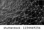 abstract polygonal background... | Shutterstock . vector #1154469256