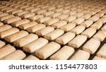 baked pies group on the... | Shutterstock . vector #1154477803