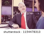 confident senior caucasian...   Shutterstock . vector #1154478313