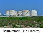 the oil tank | Shutterstock . vector #1154485096