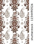 seamless pattern with indian...   Shutterstock .eps vector #1154490526