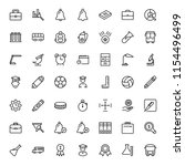 university icon set. collection ... | Shutterstock .eps vector #1154496499