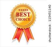 best choice golden awards... | Shutterstock . vector #115451140