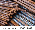 steel rods or bars used to...   Shutterstock . vector #1154514649