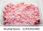 food   close up of raw fresh... | Shutterstock . vector #1154542480