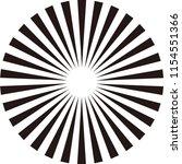 rays  beams element. sunburst ... | Shutterstock .eps vector #1154551366