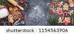 ingredients for cooking... | Shutterstock . vector #1154563906