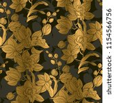 luxury elegant orchid floral... | Shutterstock .eps vector #1154566756