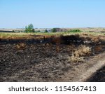 Steppe After The Fire  Scorche...
