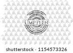 umpteen grey emblem. vintage...   Shutterstock .eps vector #1154573326
