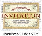 vector template. advertisements ... | Shutterstock .eps vector #1154577379