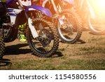 a picture of a biker doing a... | Shutterstock . vector #1154580556