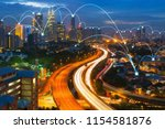 network and connection... | Shutterstock . vector #1154581876