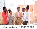 afro guests are waiting for a...   Shutterstock . vector #1154582083