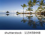 mauritius   the fine vacation... | Shutterstock . vector #115458448