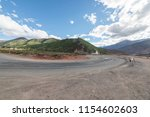 wild field highway  | Shutterstock . vector #1154602603