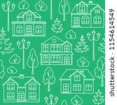 linear style seamless pattern...   Shutterstock .eps vector #1154614549