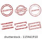 selenium stamps | Shutterstock .eps vector #115461910