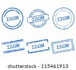 iron stamps | Shutterstock .eps vector #115461913