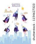 business leadership concept.... | Shutterstock .eps vector #1154627323