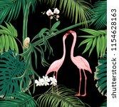 seamless pattern  background.... | Shutterstock .eps vector #1154628163