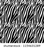 zebra print  animal skin  tiger ... | Shutterstock .eps vector #1154631289