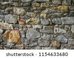 old stone wall texture as very... | Shutterstock . vector #1154633680