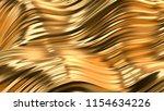luxury golden background. 3d... | Shutterstock . vector #1154634226