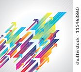 abstract colorful business...   Shutterstock .eps vector #115463860