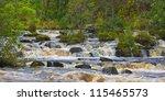 The Falls Of Dochart ...