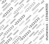 wheat seamless pattern. vector... | Shutterstock .eps vector #1154669050