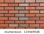 Background Section Of Brick...