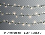 lights bulbs isolated on...   Shutterstock .eps vector #1154720650