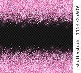 Pink Glitter On Dark...
