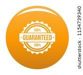 guaranteed logo. simple... | Shutterstock . vector #1154739340