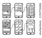 ui mobile app wireframe...