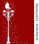 christmas theme vector... | Shutterstock .eps vector #1154753530