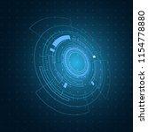 technology icon  hi tech...   Shutterstock .eps vector #1154778880