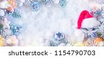 christmas and new year holidays ... | Shutterstock . vector #1154790703