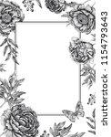 wedding invitations cards... | Shutterstock .eps vector #1154793643