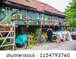 copenhagen  denmark   june 2018 ... | Shutterstock . vector #1154793760