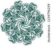 a round hand drawn pattern ...   Shutterstock .eps vector #1154796259