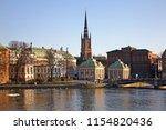 old town in stockholm. sweden | Shutterstock . vector #1154820436