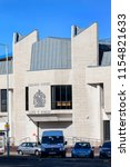 Small photo of Swansea, Wales, UK, June 30, 2018 : Swansea Crown Court in St Helen's Road which is the highest court of first instance in criminal cases