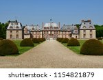 choisel  france   may 6 2018  ... | Shutterstock . vector #1154821879