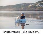 cute baby child  sweet boy ...   Shutterstock . vector #1154825593