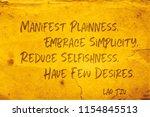 manifest plainness  embrace... | Shutterstock . vector #1154845513